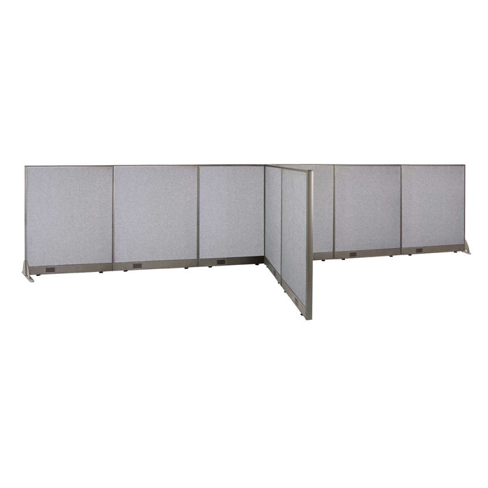 GOF Office T-Shaped Partition 66D x 204W x 48H - Kainosbuy.com
