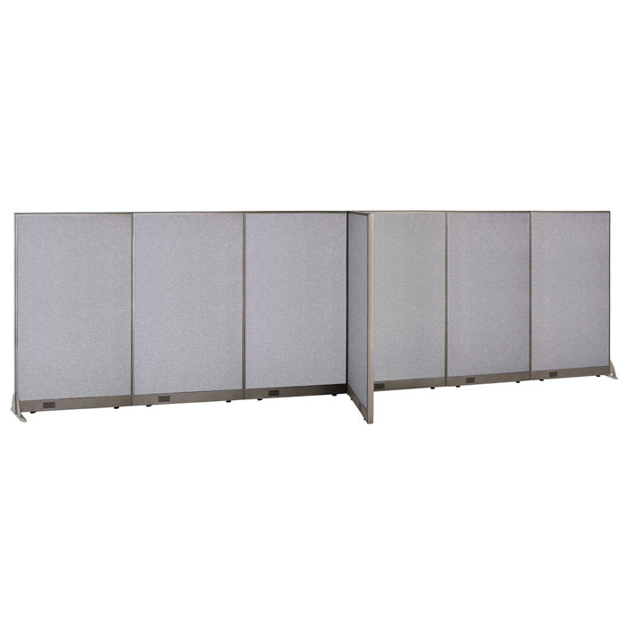 GOF Office T-Shaped Partition 30D x 216W x 72H - Kainosbuy.com