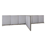 GOF Office T-Shaped Partition 72D x 216W x 48H - Kainosbuy.com