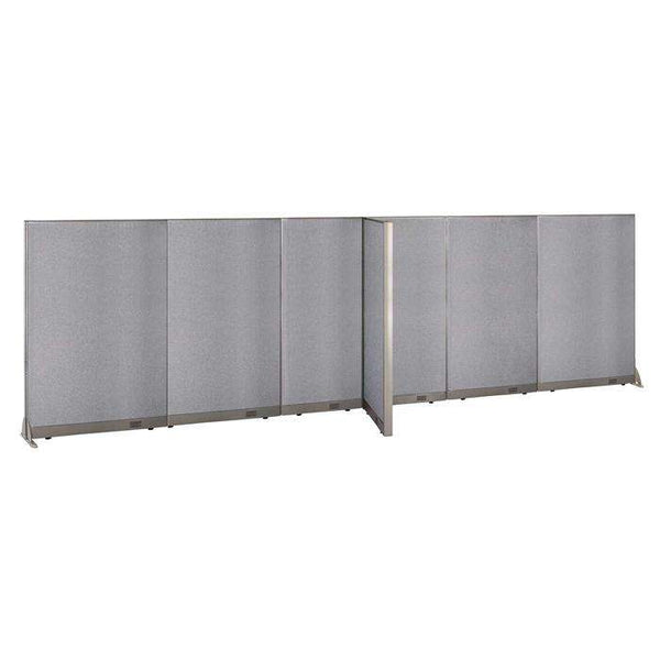 GOF Office T-Shaped Partition 30D x 228W x 72H - Kainosbuy.com
