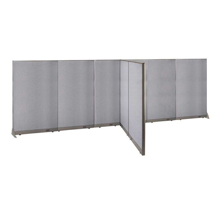 GOF Office T-Shaped Partition 72D x 228W x 72H - Kainosbuy.com