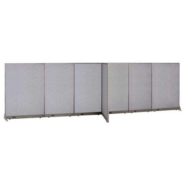 GOF Office T-Shaped Partition 30D x 240W x 72H - Kainosbuy.com