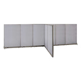 GOF Office T-Shaped Partition 72D x 240W x 72H - Kainosbuy.com