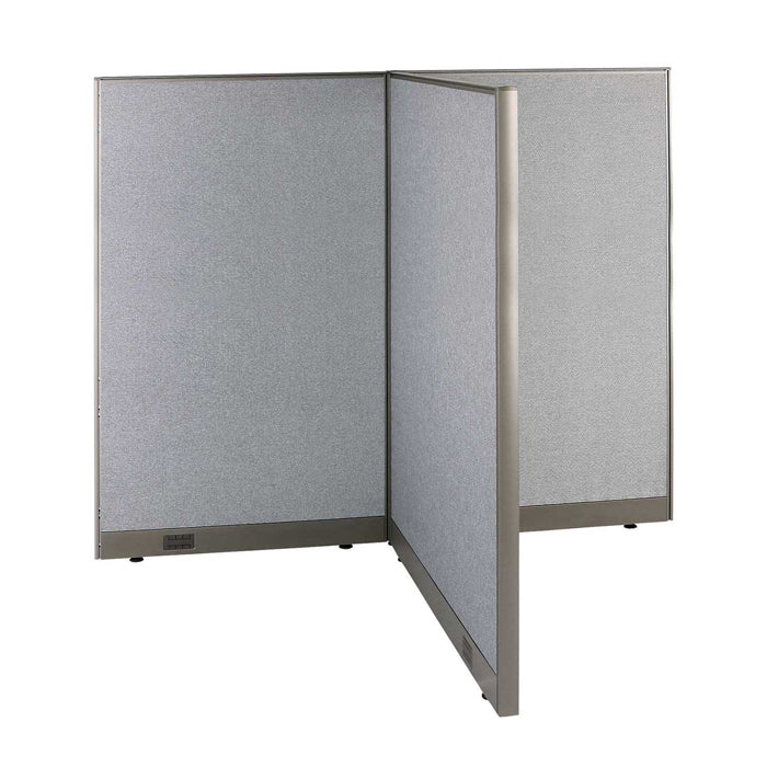 GOF Office T-Shaped Partition 48D x 72W x 72H - Kainosbuy.com