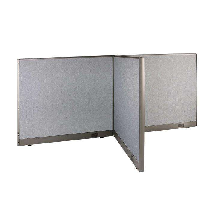 GOF Office T-Shaped Partition 48D x 96W x 48H - Kainosbuy.com