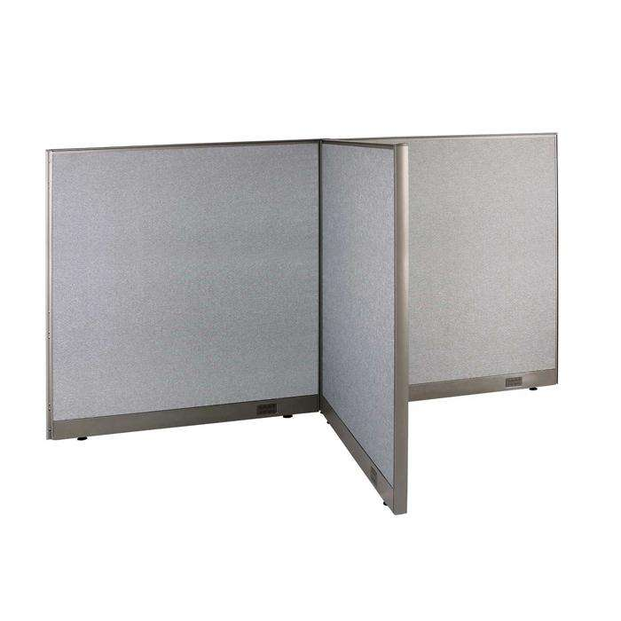 GOF Office T-Shaped Partition 48D x 96W x 60H - Kainosbuy.com