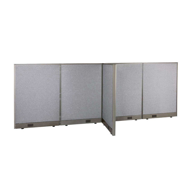 GOF Office T-Shaped Partition 30D x 120W x 48H - Kainosbuy.com
