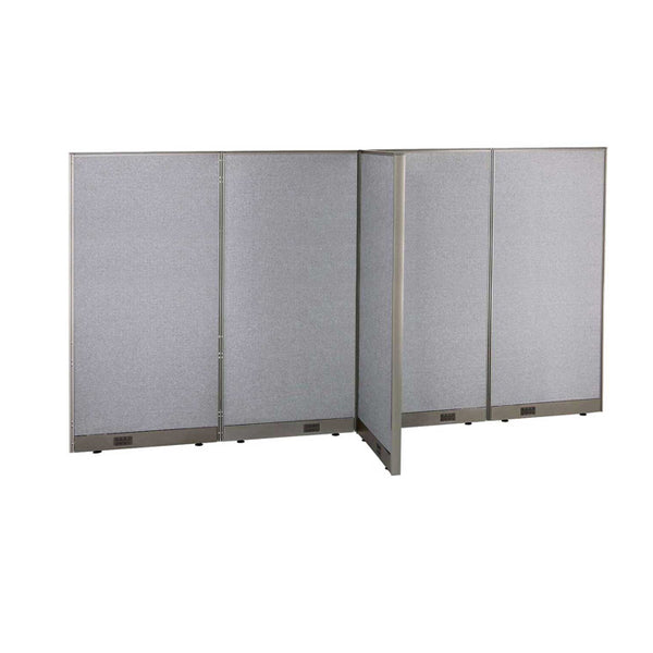 GOF Office T-Shaped Partition 30D x 120W x 72H - Kainosbuy.com