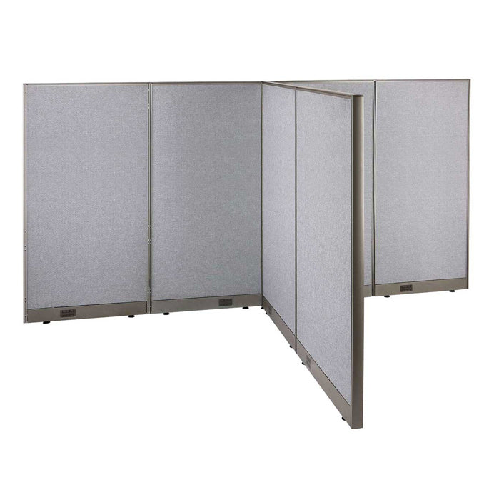 GOF Office T-Shaped Partition 72D x 120W x 72H - Kainosbuy.com