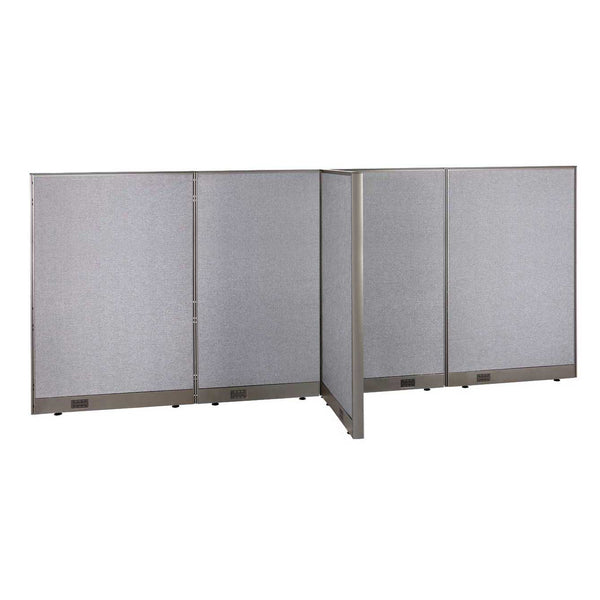 GOF Office T-Shaped Partition 30D x 132W x 60H - Kainosbuy.com