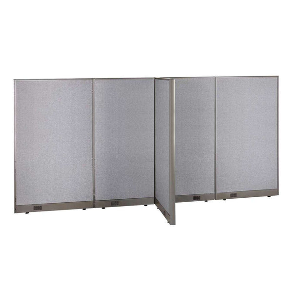GOF Office T-Shaped Partition 30D x 132W x 72H - Kainosbuy.com