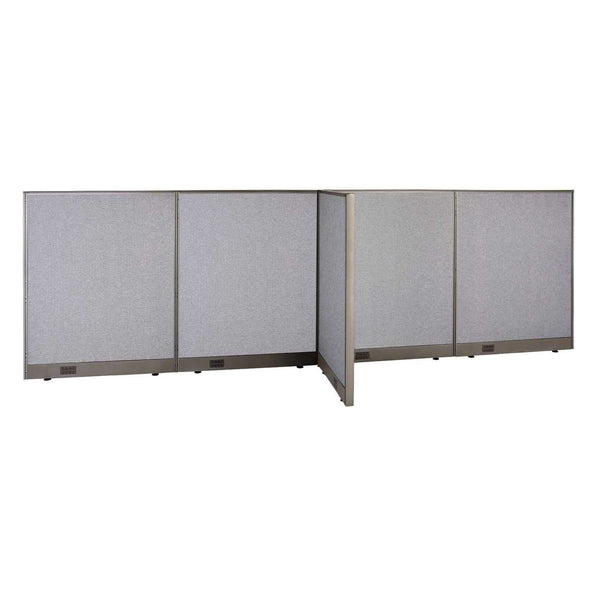 GOF Office T-Shaped Partition 30D x 144W x 48H - Kainosbuy.com
