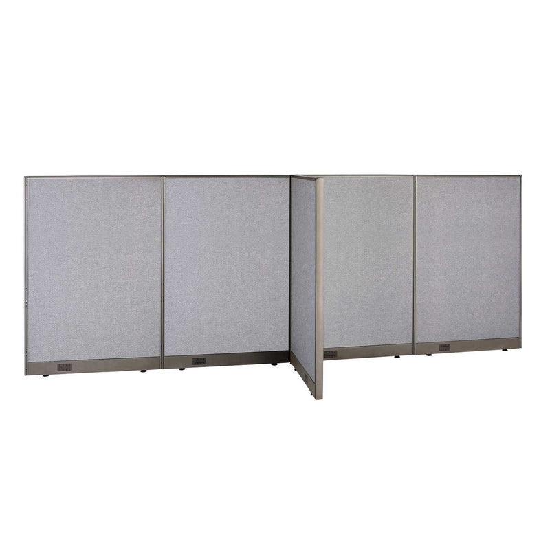 GOF Office T-Shaped Partition 30D x 144W x 60H - Kainosbuy.com