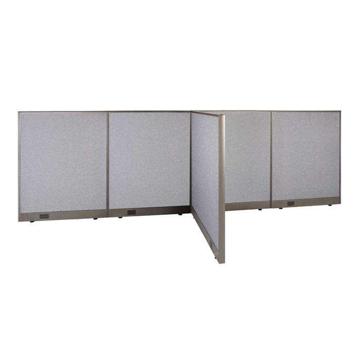 GOF Office T-Shaped Partition 48D x 144W x 48H - Kainosbuy.com