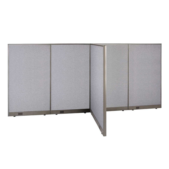 GOF Office T-Shaped Partition 48D x 144W x 72H - Kainosbuy.com