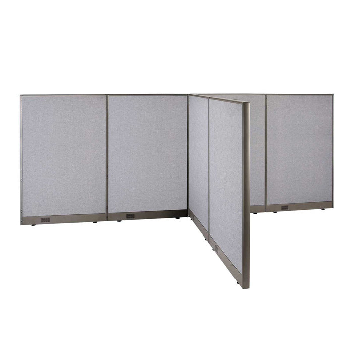 GOF Office T-Shaped Partition 72D x 144W x 60H - Kainosbuy.com