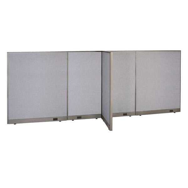 GOF Office T-Shaped Partition 30D x 156W x 60H - Kainosbuy.com