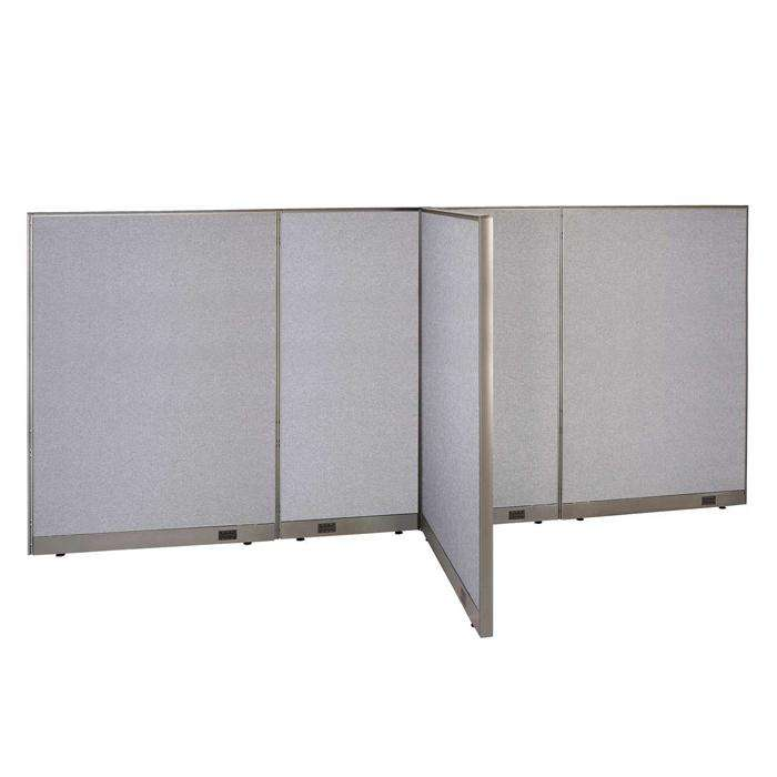 GOF Office T-Shaped Partition 48D x 156W x 72H - Kainosbuy.com
