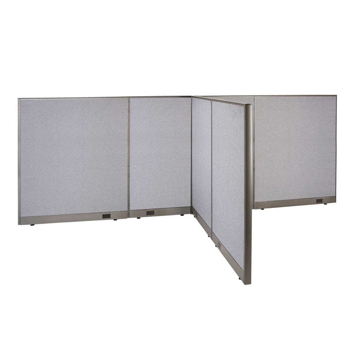 GOF Office T-Shaped Partition 72D x 156W x 60H - Kainosbuy.com
