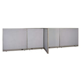 GOF Office T-Shaped Partition 30D x 168W x 48H - Kainosbuy.com