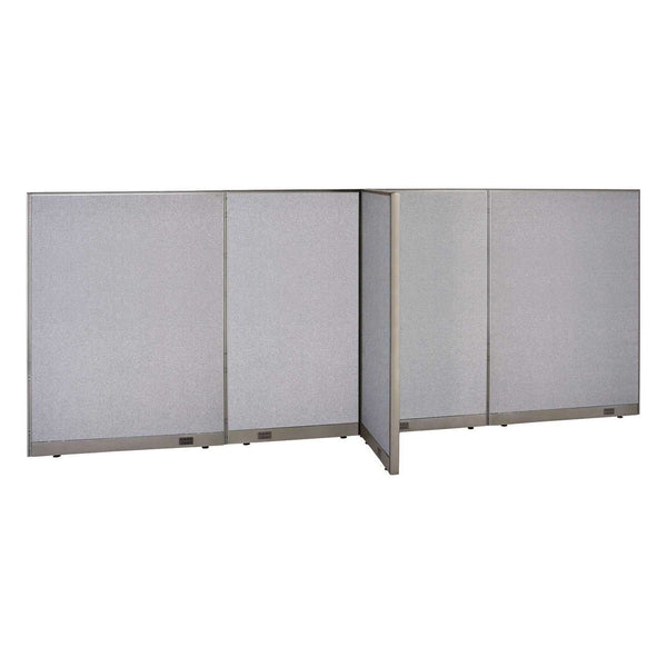 GOF Office T-Shaped Partition 30D x 168W x 72H - Kainosbuy.com