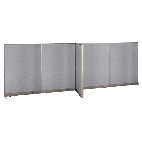 GOF Office T-Shaped Partition 30D x 192W x 72H - Kainosbuy.com