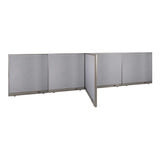 GOF Office T-Shaped Partition 48D x 192W x 48H - Kainosbuy.com
