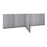GOF Office T-Shaped Partition 60D x 192W x 60H - Kainosbuy.com