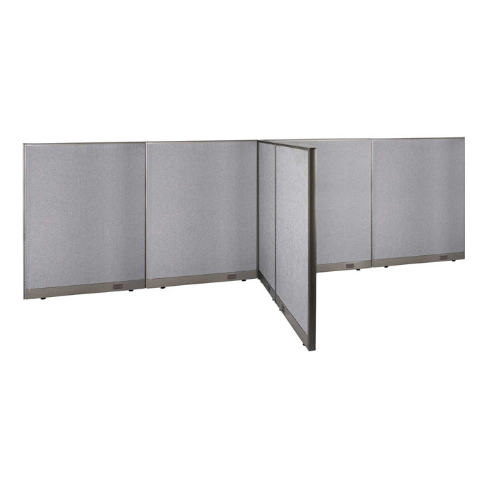 GOF Office T-Shaped Partition 66D x 192W x 60H - Kainosbuy.com
