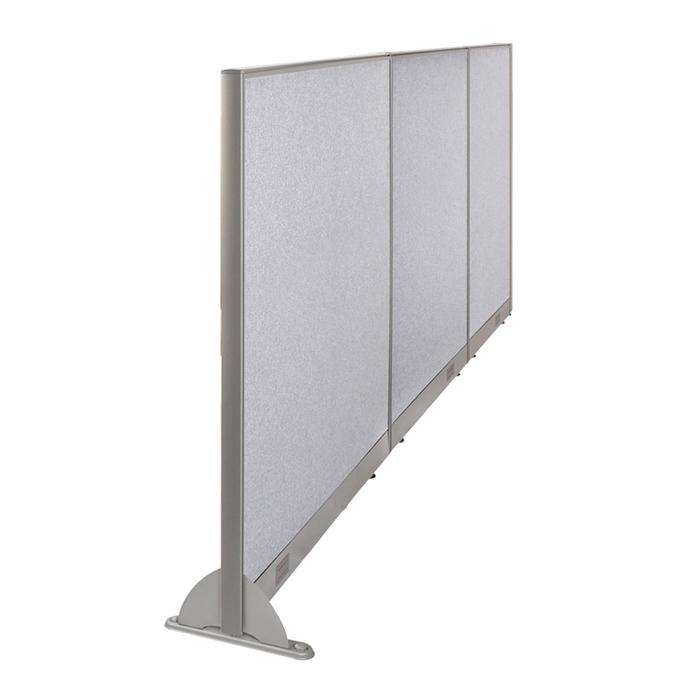 GOF Wallmounted Office Partition<BR>114W x 60H - Kainosbuy.com