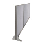 GOF Wallmounted Office Partition<BR>132W x 48H - Kainosbuy.com