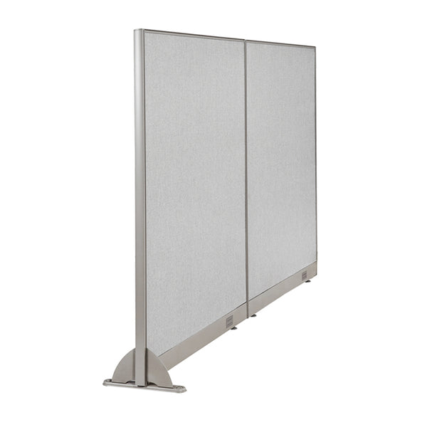 GOF Wallmounted Office Partition<BR>96W x 60H - Kainosbuy.com