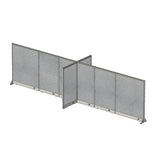 GOF Office X-Shaped Partition 60D x 228W x 60H - Kainosbuy.com