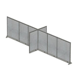 GOF Office X-Shaped Partition 60D x 240W x 60H - Kainosbuy.com