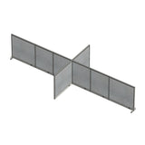 GOF Office X-Shaped Partition 96D x 240Wx 48H - Kainosbuy.com
