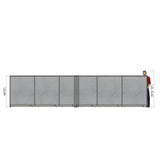 GOF Office X-Shaped Partition 144D x 264W x 60H - Kainosbuy.com