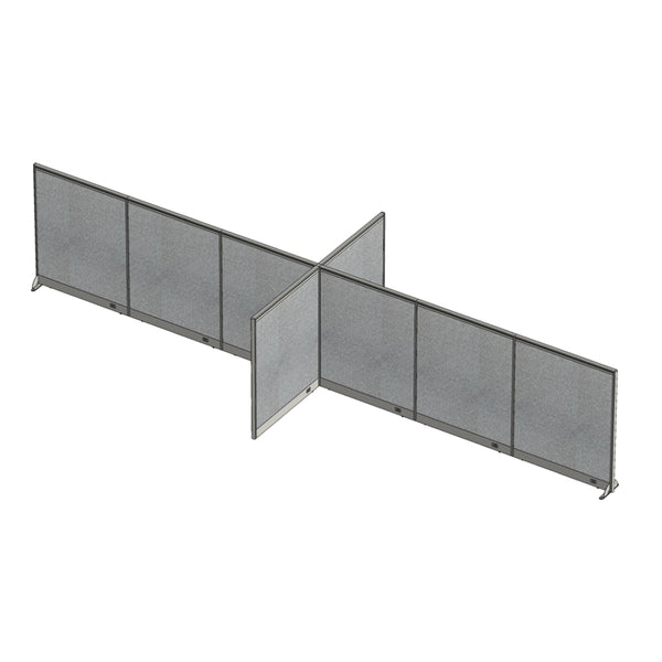 GOF Office X-Shaped Partition 96D x 288Wx 60H - Kainosbuy.com