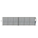 GOF Office X-Shaped Partition 120D x 288W x 72H - Kainosbuy.com
