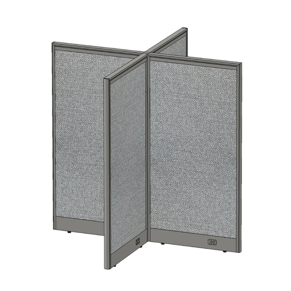 GOF Office X-Shaped Partition 60D x 60W x 60H - Kainosbuy.com