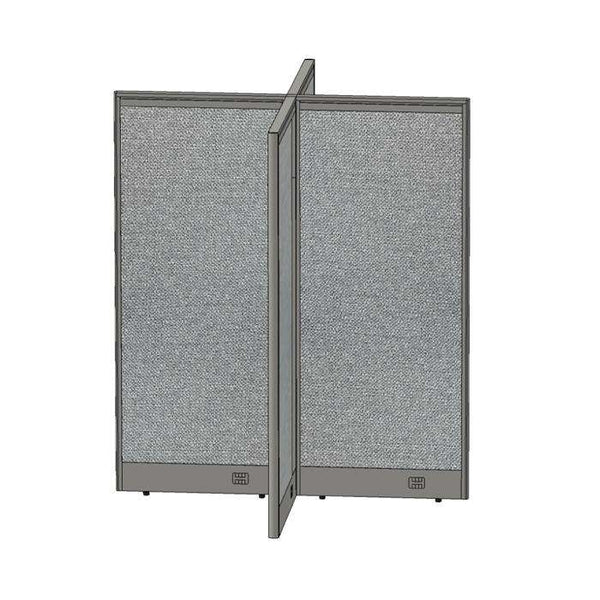 GOF Office X-Shaped Partition 60D x 60W x 72H - Kainosbuy.com