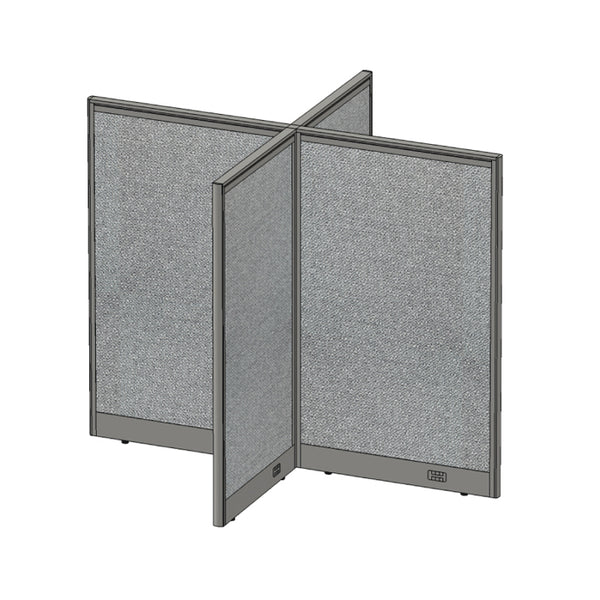 GOF Office X-Shaped Partition 60D x 72W x 60H - Kainosbuy.com