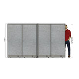 GOF Office X-Shaped Partition 72D x 120W x 72H - Kainosbuy.com
