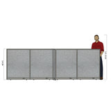GOF Office X-Shaped Partition 72D x 144W x 48H - Kainosbuy.com