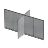 GOF Office X-Shaped Partition 72D x 144W x 72H - Kainosbuy.com