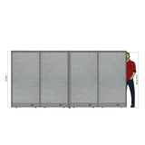 GOF Office X-Shaped Partition 96D x 144W x 72H - Kainosbuy.com