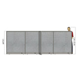 GOF Office X-Shaped Partition 132D x 168W x 60H - Kainosbuy.com