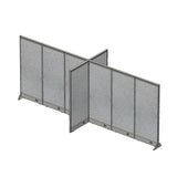 GOF Office X-Shaped Partition 60D x 180W x 72H - Kainosbuy.com