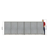 GOF Office X-Shaped Partition 96D x 180W x 60H - Kainosbuy.com