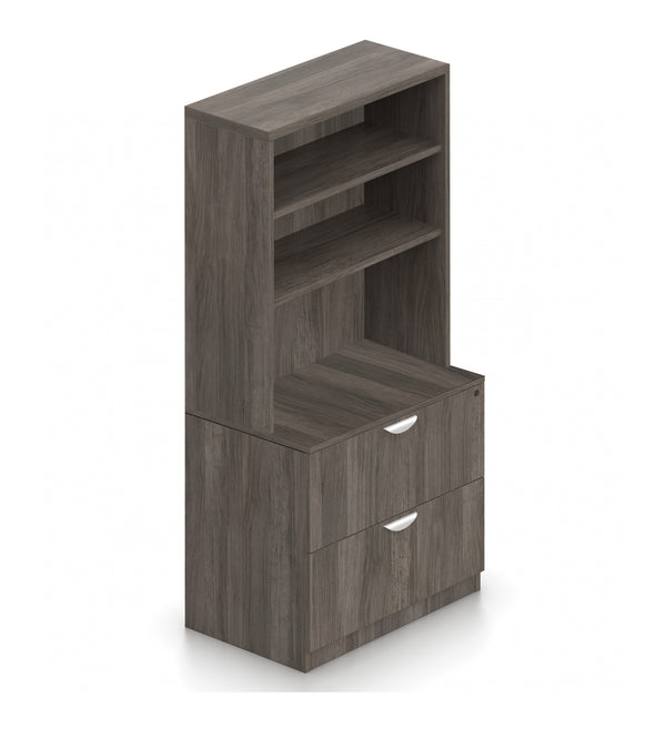 Bookcase with Drawer Storage -Storage Tower Unit - Kainosbuy.com