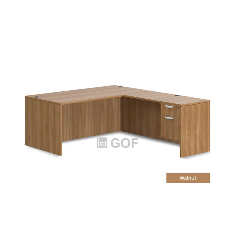 GOF 3 Person Workstation Cubicle (5'D  x 19.5'W x 6'H) / Office Partition, Room Divider - Kainosbuy.com